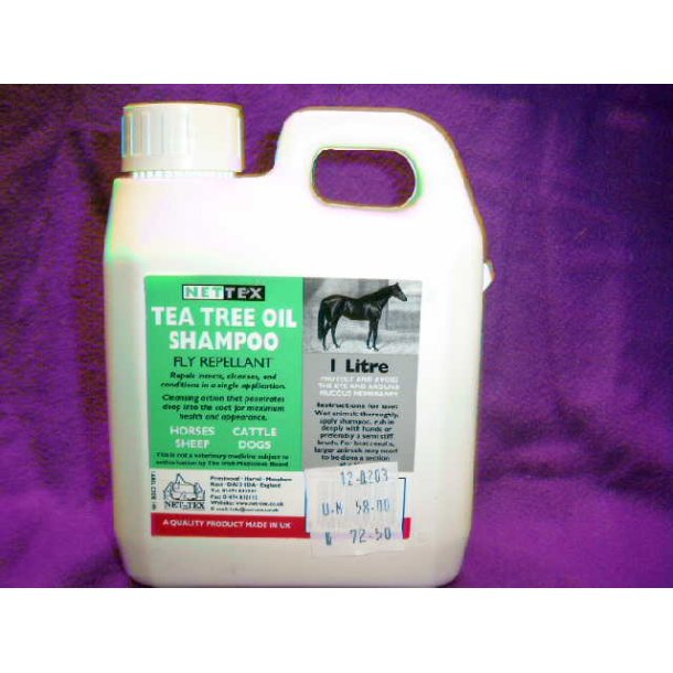 Tea Tree Oil Shampoo - 1 Ltr.