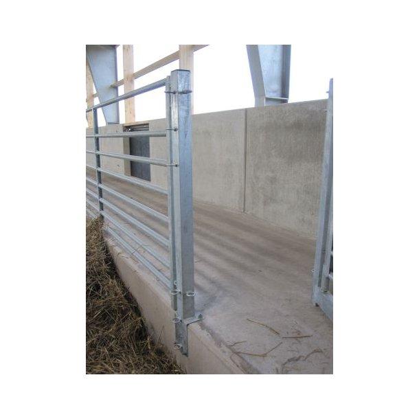 Stolpe for betonkant
